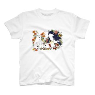 Tシャツ(フラワー) T-shirts