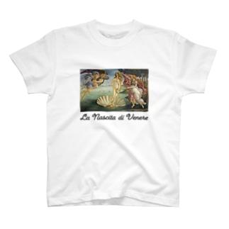 ヴィーナス誕生 T-shirts