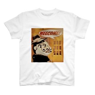ウェルカム ピテカン T-Shirt