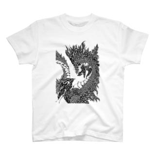 龍の模様 T-Shirt