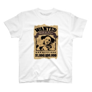WANTED Tシャツ T-Shirt