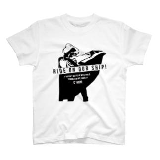 Ride on Tシャツ T-Shirt
