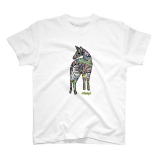 オカピ(数量限定) T-shirts