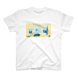 COFFEE GIFT -Chocolate- YELLOW Ver. T-Shirt
