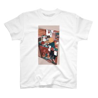 ざしきわらし T-shirts