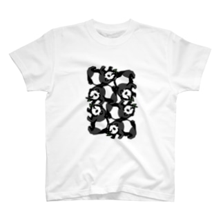 パンダ詰合せ T-shirts