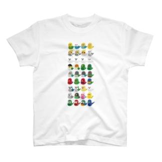 いんこずくめTしゃつ T-shirts
