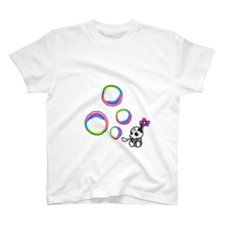 しゃぼんとどくろ T-shirts