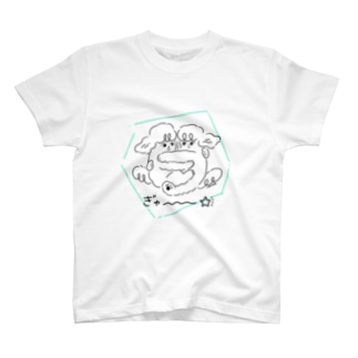 うちのわんこちゃん「おともだち」 T-shirts