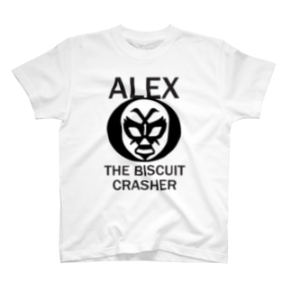 ALEX THE BISCUIT CRASHER T-shirts