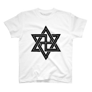 六芒星2 T-shirts