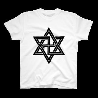 毒の素の六芒星2 T-shirts