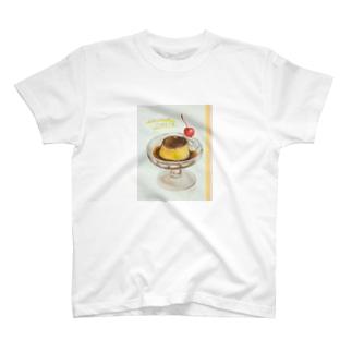 喫茶プリン T-shirts