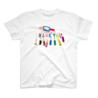 CT155 ちびた色鉛筆*A T-shirts