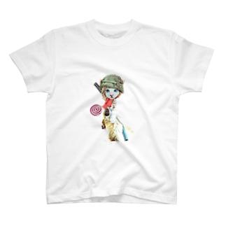 ちび猫Soldier T-Shirt