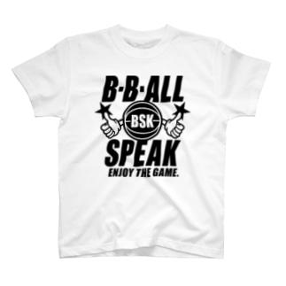 B.B.ALL SPEAK T-shirts