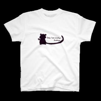 Suntauyoのサソリウーパーシルエット T-shirts