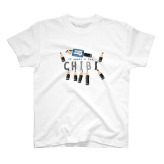 CT156 ちびた鉛筆*A T-shirts