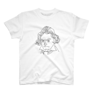 運命のベートーヴェン【作曲家シリーズ】 T-shirts