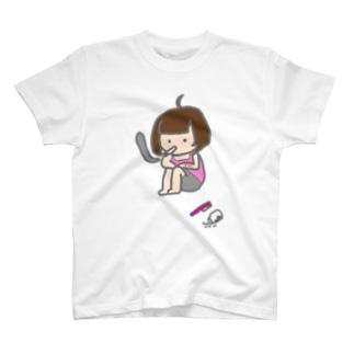 メンヘラおんなのこ T-shirts