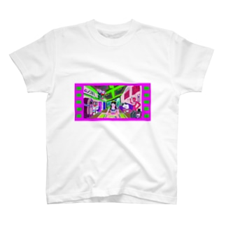 とある未来の生活 T-shirts