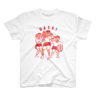 AMATHAN(赤) T-shirts