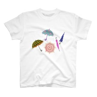 傘いろいろ T-shirts