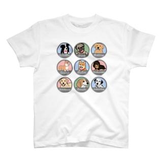 PUG-パグ-ぱぐ ワンちゃんTシャツ-1 T-shirts