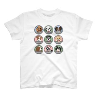 PUG-パグ-ぱぐ ワンちゃんTシャツ-2 T-shirts