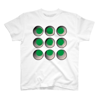 リモート会議で体に穴が開いちゃうシャツ T-shirts
