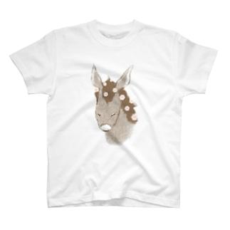 花散るロバ T-shirts