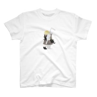 魅惑のコーヒーフロート T-shirts