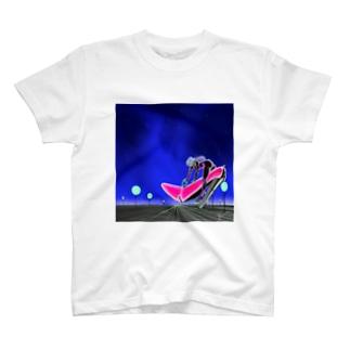 ハイヒールガール・アストロ T-shirts