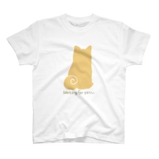 待ってる柴犬 から〜 T-shirts