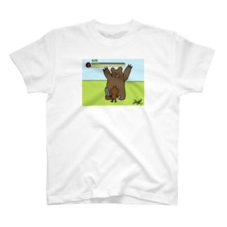 モンスターに攻撃されて、気絶状態になってピンチなやつ! T-shirts