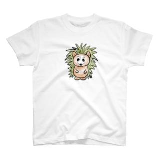 ハリネズミTシャツ T-shirts