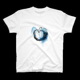eauのBlue apple T-shirts