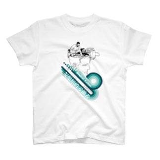 仮想知的労働者(Digital Labor) T-shirts