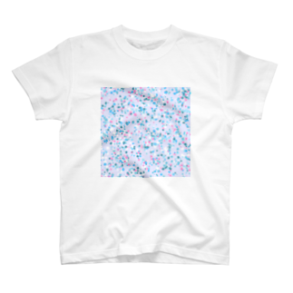 レオナのRandom Paint(Ocean Colors02) T-shirts