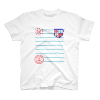 marine letter T-shirts