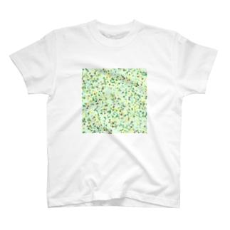 Random Paint(Botanical Colors02) T-shirts