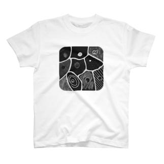 cells.gray T-shirts