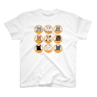 ニャンコTシャツ T-shirts