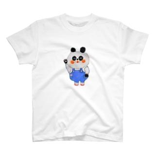 もふもふパンダさん T-shirts