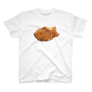 たい焼き T-shirts