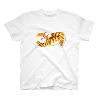のびにゃんこ T-shirts