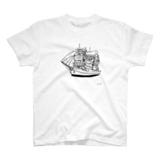 帆船・BBQ号 T-shirts