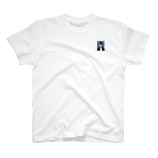 引くほど加工したゥチ。 T-shirts