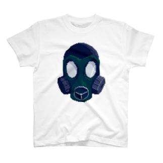 ガスマスクっぽい Tシャツ