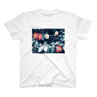赤と白 T-shirts